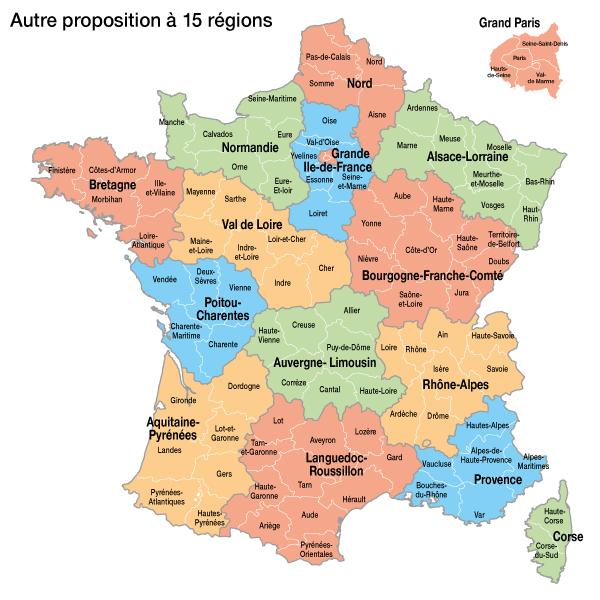Votez pour votre d coupage pr f r for Region loiret